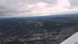 United Airlines N26215 737-800 Takeoff Portland Airport (PDX)  FLIGHT 5659