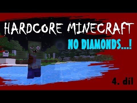 Minecraft Hardcore S03E04 - Víte, že máme pod domem koleje?