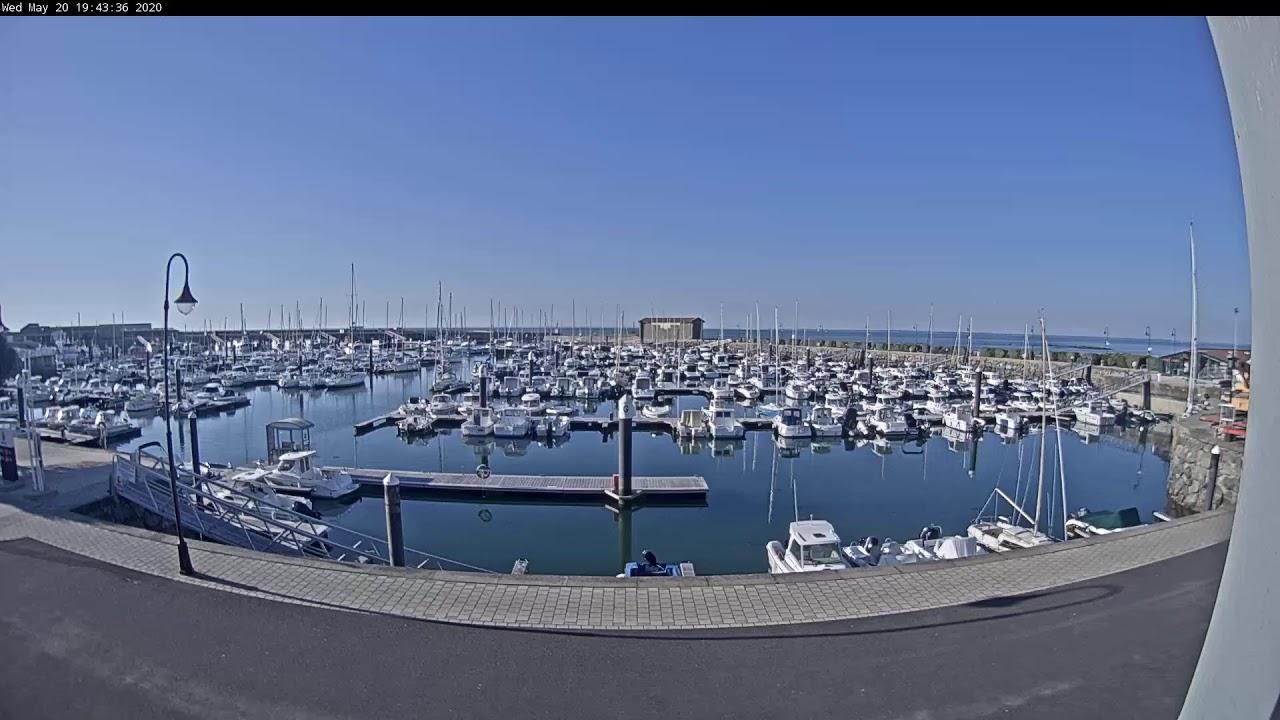 Webcam en direct du port du bourg de l'Herbaudière, à l'extrême nord-ouest de l'île de Noirmoutier