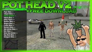 GTA 5 ONLINE: POT HEAD V2 MOD MENU + FREE DOWNLOAD! [XBOX 360]