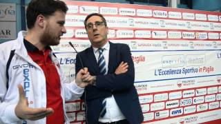 preview picture of video 'Molfetta-Ravenna | Intervista finale a Vincenzo di Pinto'