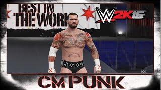WWE 2K16 CM Punk CAW Formula+Entrance & Finisher