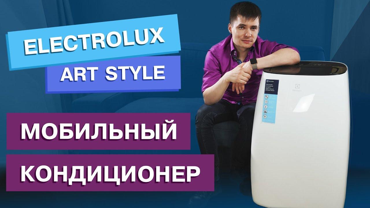 Мобильный кондиционер Electrolux EACM-10 HR/N3 видео