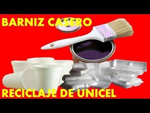 RECICLAJE | BARNIZ CASERO CON RECICLAJE  | DIY