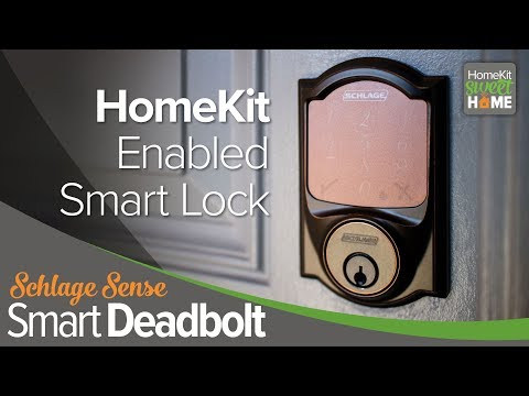 Schlage Sense Smart Deadbolt, HomeKit Sweet Home