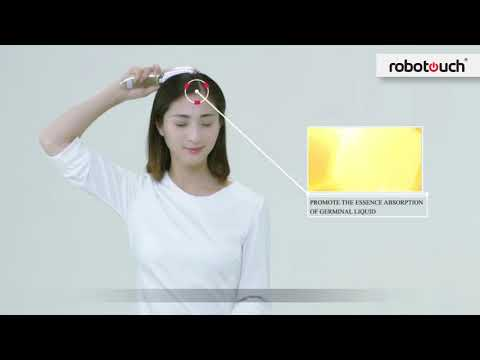 Infrared ION Hair Oil Comb Massager