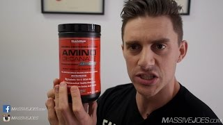 MuscleMeds Amino Decanate BCAA Supplement Review - MassiveJoes.com RAW Review Acid Muscle Meds