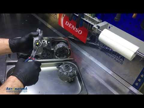 Mercedes C/E/S/ML/GL/G/R - ремонт компрессора кондиционера. Замена муфты.