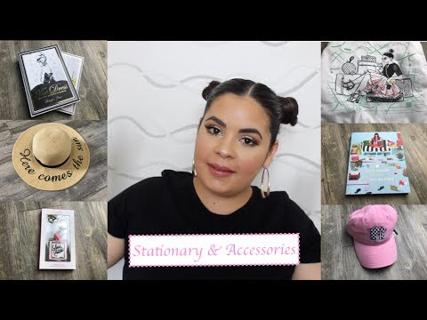 Girly Stationery & Accessory Haul! TJ Maxx, Marshalls, & Homegoods