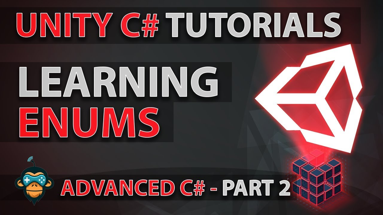 Learn to Program with C# - ENUMS - Advanced Unity Tutorial