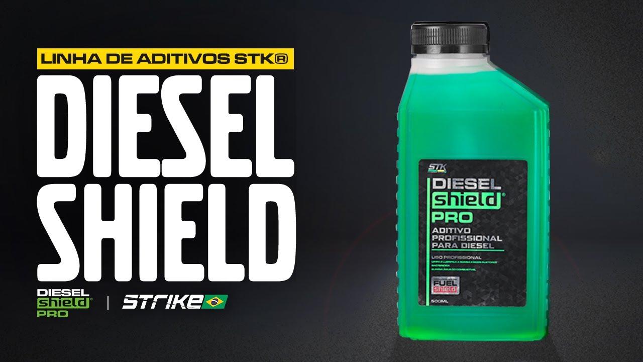 Aditivo STK® Diesel Shield Pro (aditivo profissional para diesel)