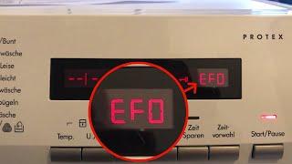 AEG Waschmaschine Fehler EF0 | EF3 Lavamat Protex Reparatur