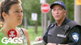 bromas el paramédico el policía y la mujer embarazad