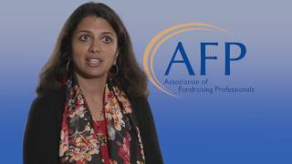 The Fundraiser's Experience as an AFP Member
