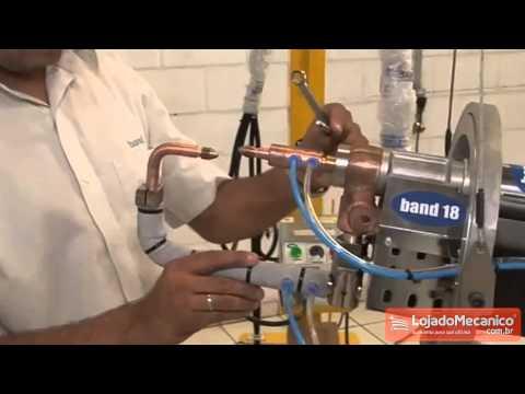 Solda Ponto Refrigerado à Água 1100W  - Video