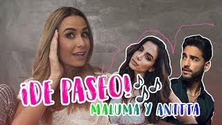 De paseo con MALUMA y ANITTA Ft. Maluma y Anitta   Odalys Ramírez