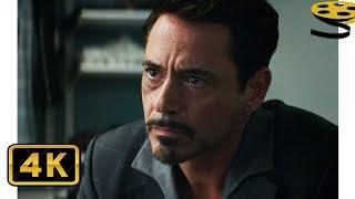 Тони Старк раскрывает личность Человека-Паука   Первый мститель: Противостояние   4K ULTRA HD