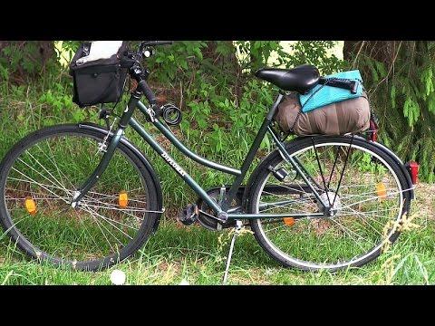 Vlog #2 - Mit dem Fahrrad nach Freiburg (Ziel ist Frankreich)