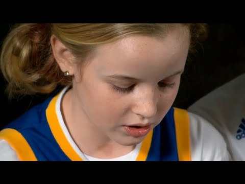 6f53a5a51c9a Warriors  star Steph Curry pens letter to 9-year-old girl