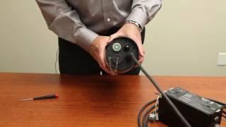 caméra autonome ccfc - alimentation et connexion wi-fi
