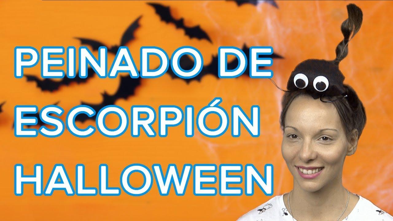 Cómo hacer un peinado de escorpión para Halloween   Peinado originales para niñas