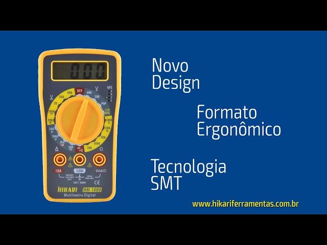 Imagem Multímetro Digital