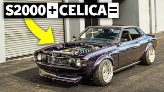 9000rpm in a '77 Toyota Celica. Is an F22c the Perfect Celica Motor Swap?