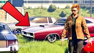 TOP 7 BEST LOOKING MUSCLE CARS IN GTA ONLINE