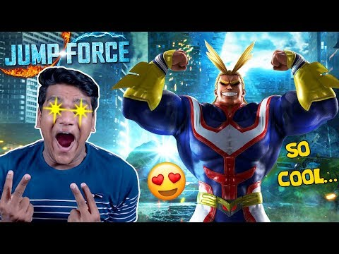 JUMP FORCE New Characters So Cool ⭐⭐