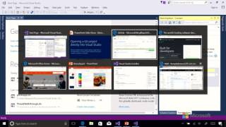 08 Cloning and Opening a Project from GitHub into Visual Studio 2017