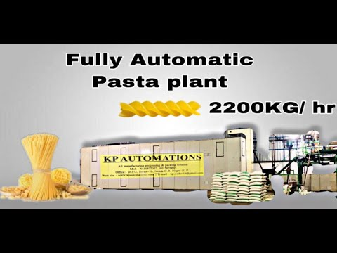 Mini Pasta Machine  50 Kg/Hr