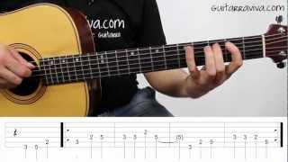 Como tocar LA BAMBA tutorial completo guitarra facil para principiantes CANCION FACIL