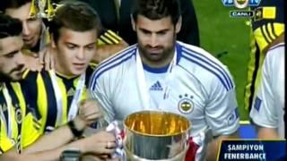 Guiza kupayı kaçırıyor Şampiyonluk Töreni