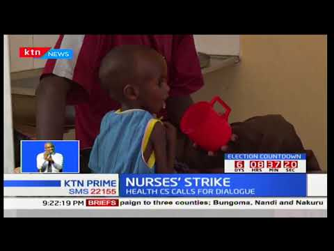 New strategy by county governments to solve the nurses' strike