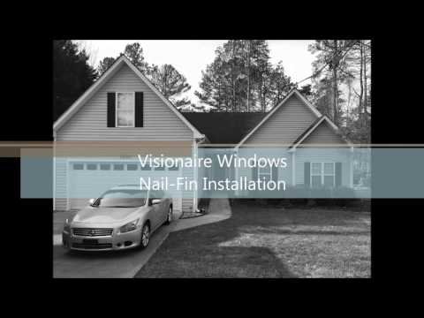 Visionaire Windows Nail-Fin Installation