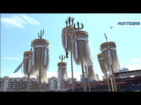 Тулгар төр байгуулагдсаны 2228 жил, Их Монгол Улсын 813, Ардын хувьсгалын 98 жилийн ойн Монгол Наадам эхэллээ