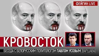 Кровосток. Беседа с белорусским политологом Павлом Усовым