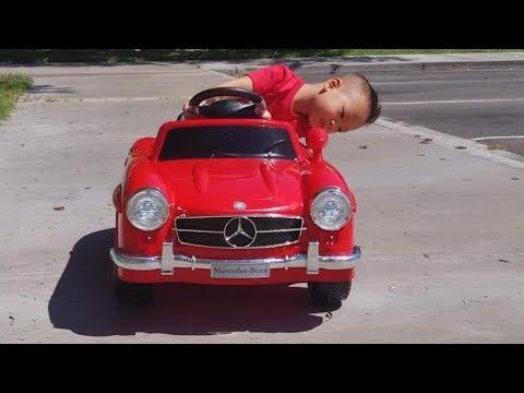 Mercedes Benz 300SL Power wheels 6 Volt Electric Battery Ride On Car Toy