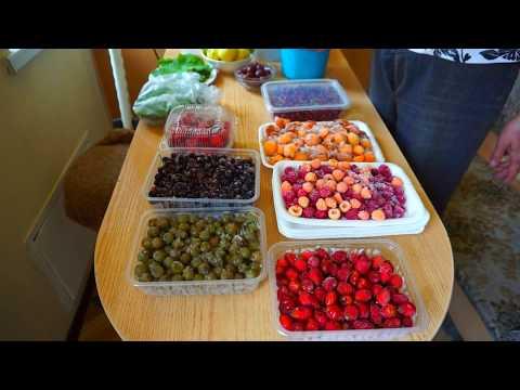Мой способ заморозки ягод на зиму! Сохраняем витамины по максимуму!