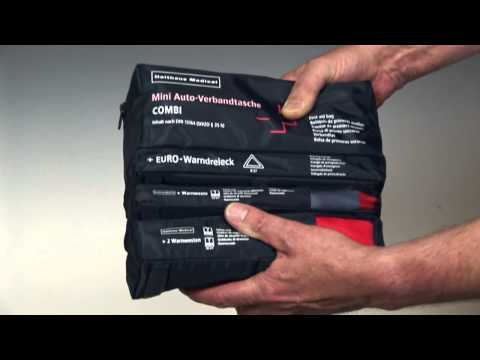 Mini Kfz-Verbandtaschen - First aid bags for Cars