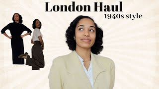 What I Bought In London//1940s Style