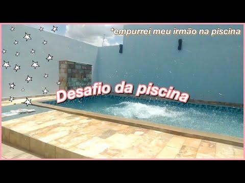 😎 DESAFIO da PISCINA   Fale Qualquer Coisa (Feat. Irmão)