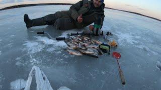 Рыбалка в красной яруге на месяц