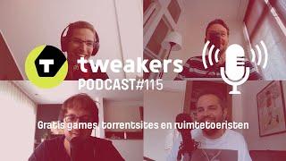 Tweakers Podcast #115 - Gratis games, torrentsites en ruimtetoeristen