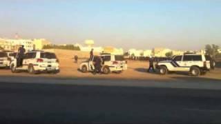preview picture of video 'البحرين - سترة : بداية القمع / تشييع الشهيد علي بداح'