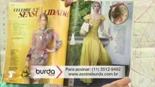 burda na TV 05 – Blusa cropped