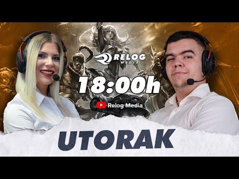🔴 Uživo LOL sa Delićem i Milom 🔴 - Relog LOL Utorak