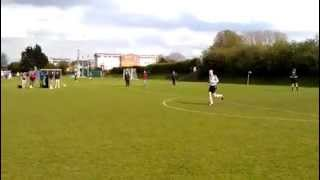 preview picture of video 'Old Plymouthians 3 - 3 Cheam Village Warriors Penalty Shoot'