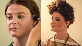 Historical Styles - Ancient Roman Style (Flavian Dynasty) Hair And Make-up Tutorial