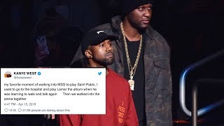 Kanye West Throws MAJOR SHADE At Tristan Thompson Over Cheating Scandal! - Video Youtube